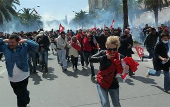 Pour la chute du régime de Tunis