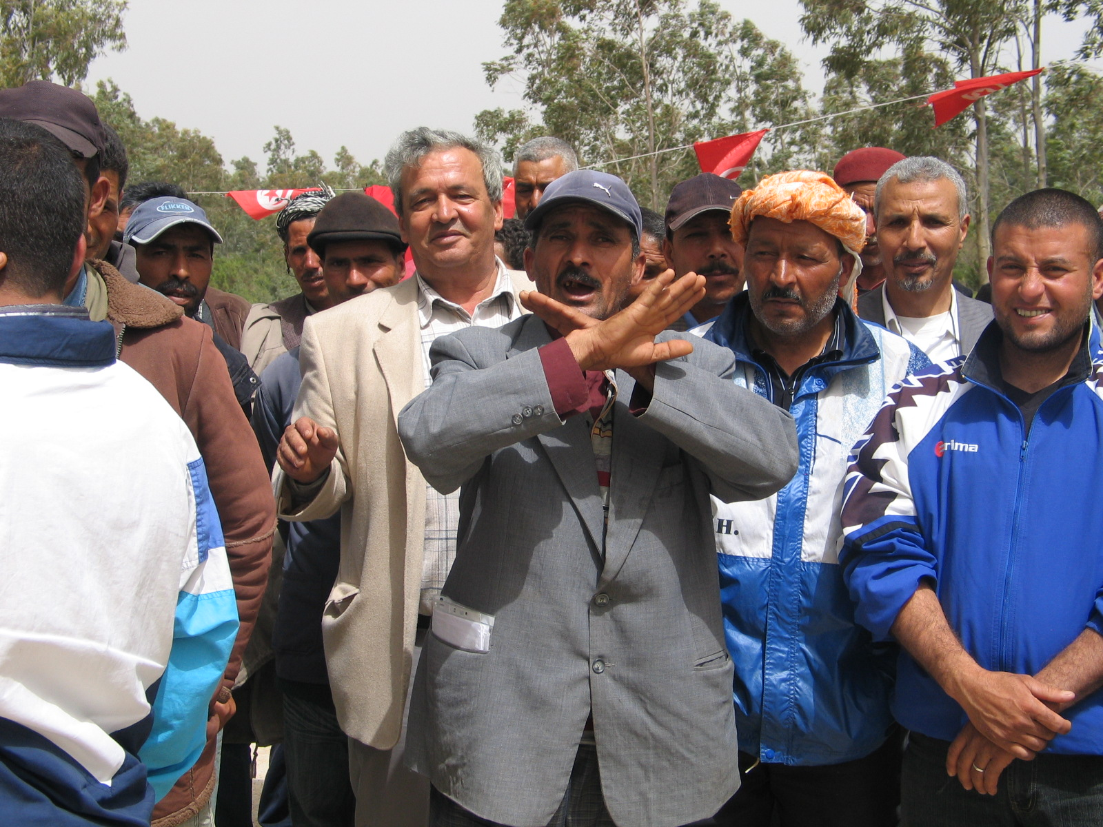 Kef Aabed, Tunisie : du côté des perdants.