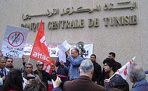 CAMPAGNE POUR LA SUSPENSION DU PAIEMENT DE LA DETTE DE LA TUNISIE