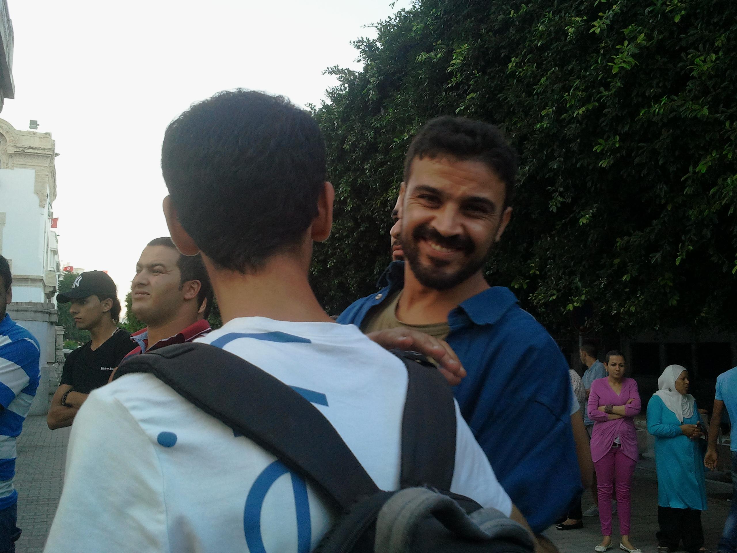 Nejib Abidi esce in libertà provvisoria il 26 settembre 2013 Foto di Patrizia Mancini