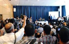"""Rivelazioni """"esplosive"""", smentite e reazioni: la conferenza stampa dell'associazione per la ricerca della verità sugli omicidi di Chokri Belaid e Mohamed Brahmi"""