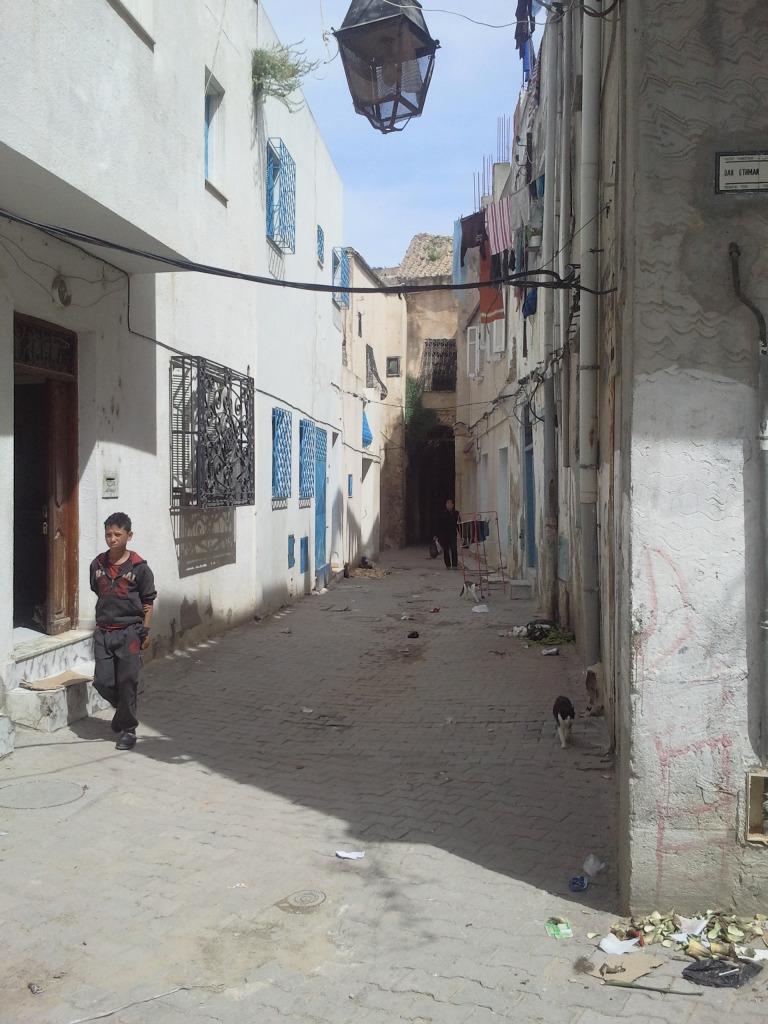 Une rue à Bab Jdid