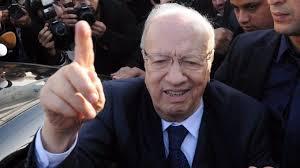 MohamedBeji Caid Essebsi, vincitore alle presidenziali tunisine