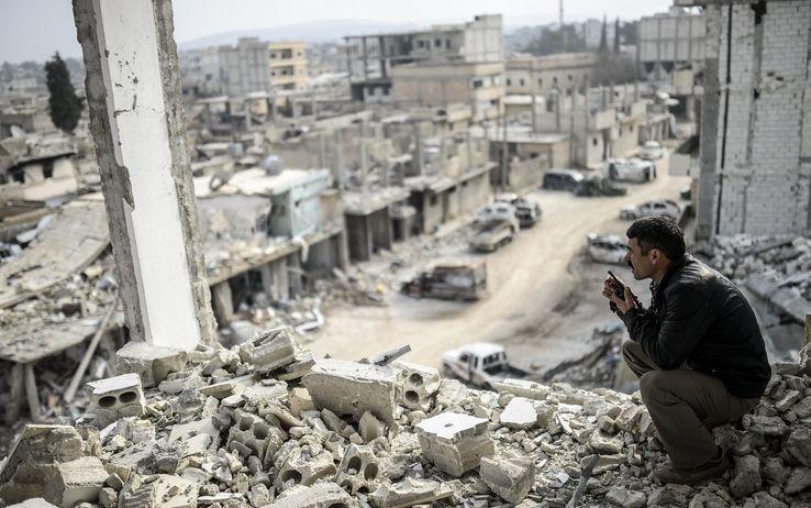 Kobane libera Foto: Sky tg24