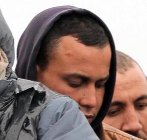Abdel Majid Touil al suo sbarco in Italia Crédit: la provincia pavese