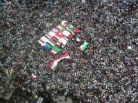 Piazza Tahrir, gennaio 2011  foto da rbe.it