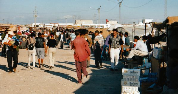 Suk Libia a Ben Guerdane