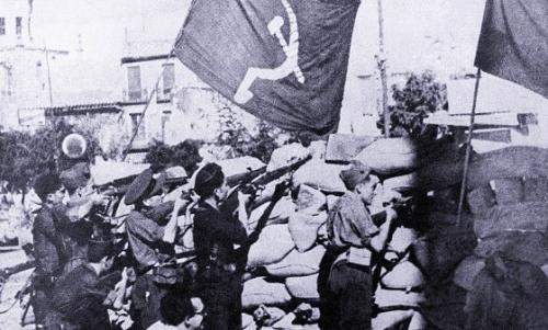 Nelle Brigate internazionali nelle guerra contro il Franchismo in Spagna combatterono anche comunisti arabi C