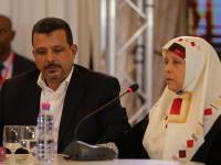 Jamel Baraket e sua madre Khira testimoniano sull'rapimento e  Crédit photo IVD Media Center