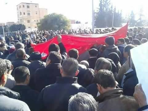 grève generale a Meknassy