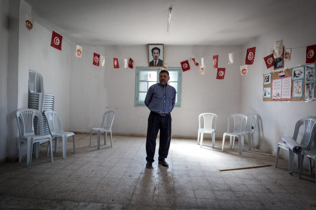 OM-Habib-El-Tayef-presidente-della-sezione-di-Bir-Ali-Ben-Khalifa-del-sindacato-UGTT-Union-Générale-des-travailleurs-tunisiens-1024x683