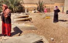 Resti  del cimitero repubblicano di Kasserine, a 300 chilometri dalla capitale Foto di:   MARC ALMODÓVAR / ANDREU ROSÉS